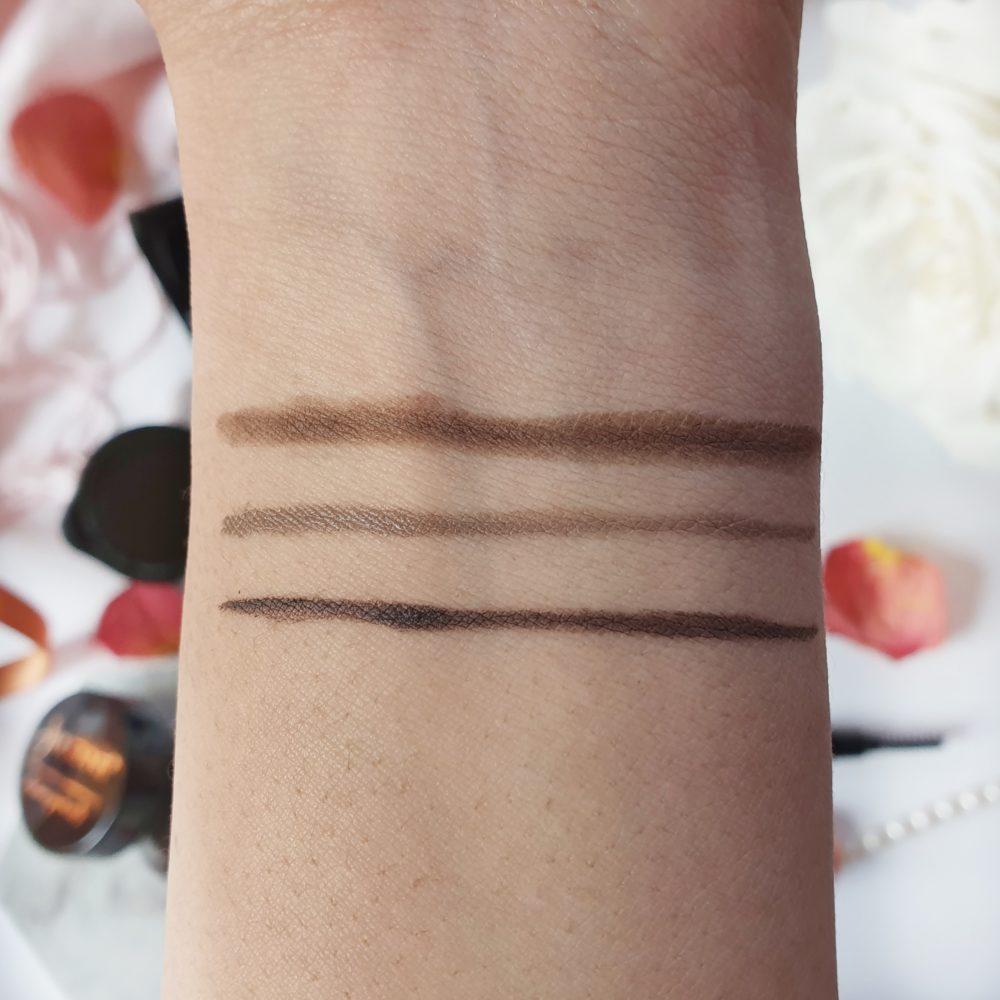 Julienne Brow Dark Brown Swatches
