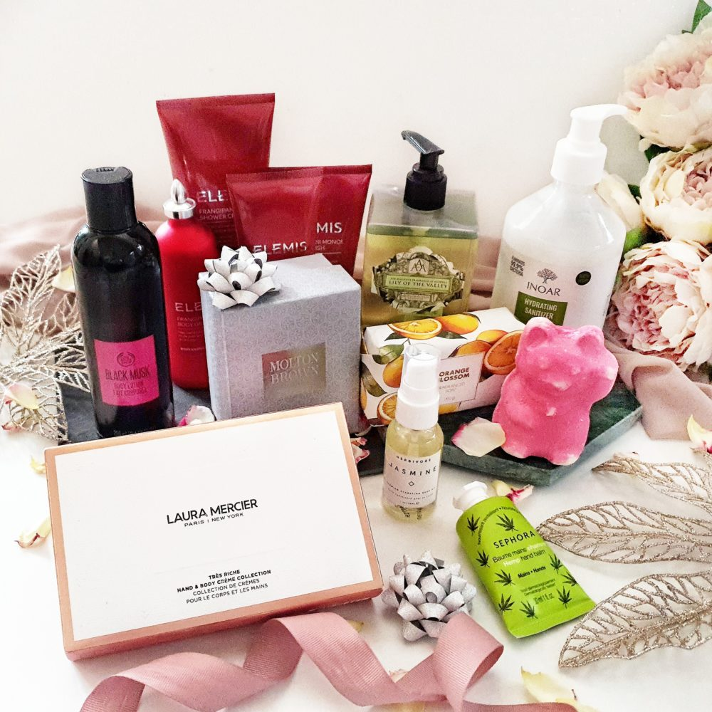 Christmas Gift Guide Bath and Body Gift Guide